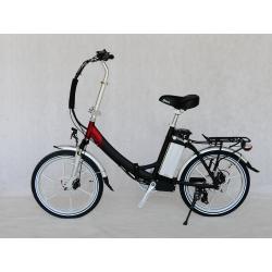 Elektrisk sammenleggbar sykkel