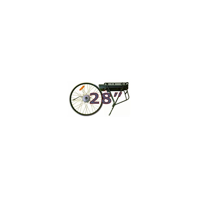 "28"" elektrisk hjul. 250W"